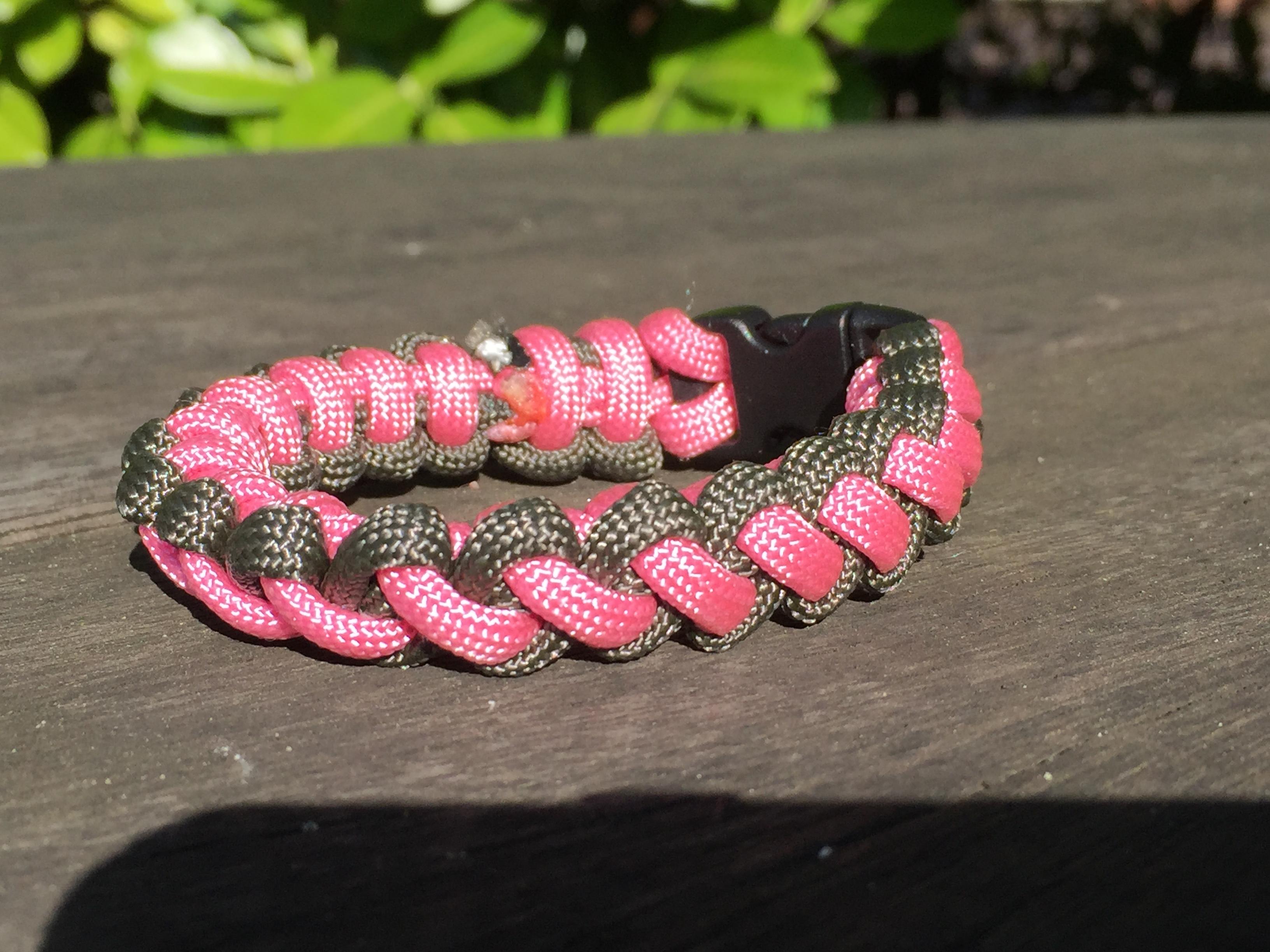 The CURL Survival Bracelet Two Colour SurvivalBands UK 550