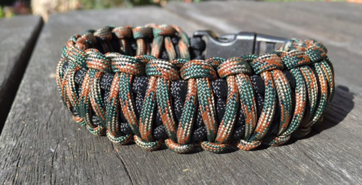 Practical Paracord Wristbands at Their Best.