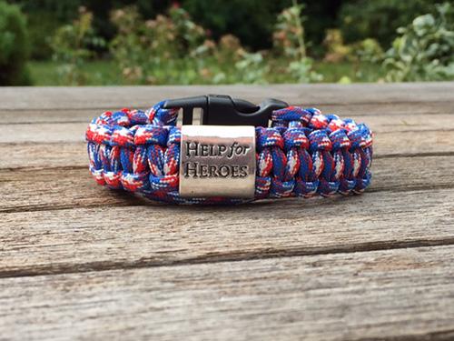 Help for Heroes Patriotic Edition Bracelet