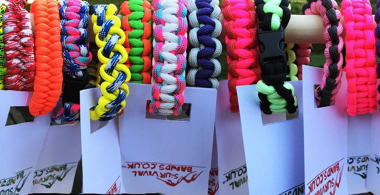 Paracrod bracelets - Survivalbands