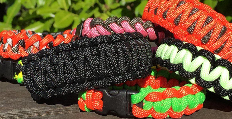 Survival Bands Paracord Bracelets