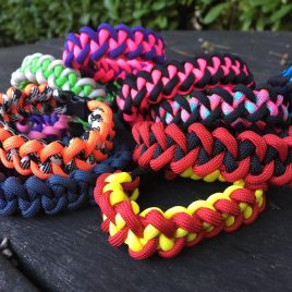 The Viper Paracord Bracelet – Two Colour