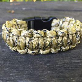 The Double Cobra – Single Colour Bracelet