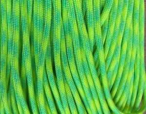 Yellow & Green Gecko Paracord